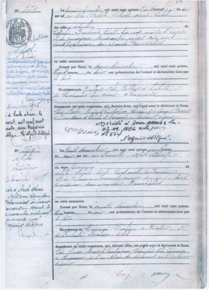 les naturalisations entre 1900 et 1960