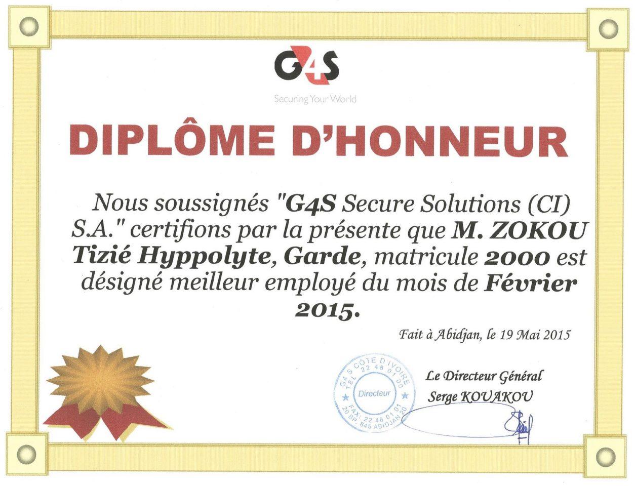 Cherche travail vigile canada ivoirien cherche travail vigile can - Diplome de cuisine a imprimer ...